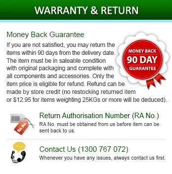 Warranty & Return