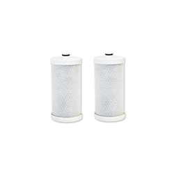 2 X EcoAqua Fridge Filter WF1CB / RG100 / 1438545 / 218904501 - Suits Westinghouse