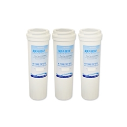 3 X 836848 Fisher & Paykel Fridge Filter by  Aqua  Blue  H20