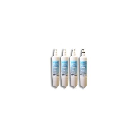 4x LG 5231JA2006A/LT600P Fridge Water Filters by aqua blue H20