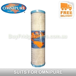 """Omnipure  10"""" Coconut Carbon Block 1MPB   OMB9341 MPB"""