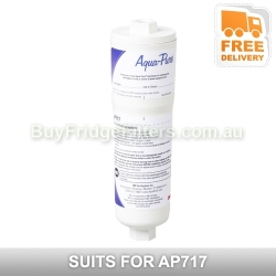AP717 Aqua pure triple action inline filter