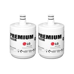 2 X 5231JA2002A, LT500P LG Genuine Fridge Water Filter premium