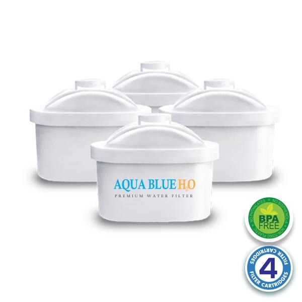 4 x Brita Maxtra Compatible Water Filter Jug Cartridge Four Pack