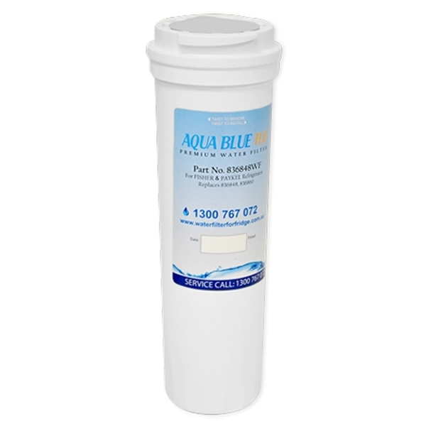 836848 Fisher & Paykel Fridge Filter by  Aqua  Blue  H20 - 836848WF
