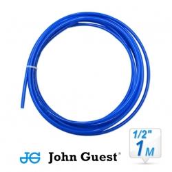 "John Guest 1/2"" Hose Tubing High Pressure Blue 1 Metre"