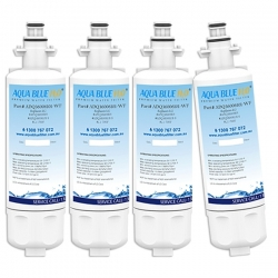 4x LG LT700P ADQ36006101 Refrigerator Water Filter By Aqua Blue H20