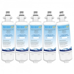 5x LG LT700P ADQ36006101 Refrigerator Water Filter By Aqua Blue H20