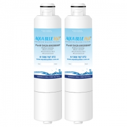 2x DA29-00020A/B Aqua Blue Fridge Filters for Samsung HAF-CIN