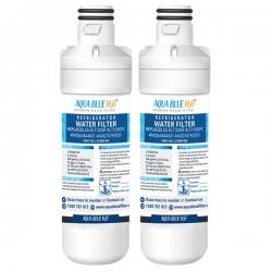 2X Aqua Blue LT1000P Fridge Water Filter, Compatible with LG LT1000P, LT1000PC, MDJ64844601, ADQ74793501