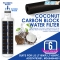 4X Aqua Blue LT1000P Fridge Water Filter, Compatible with LG LT1000P, LT1000PC, MDJ64844601, ADQ74793501