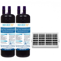 2x Whirlpool W102975370 Replacement Filter + Whirpool Air Filter Set