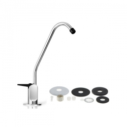Faucet B_Water Filter Reverse Osmosis Faucet Tap With Black Lever