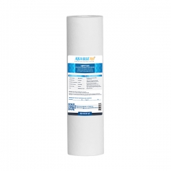 "Aqua Blue H2O 10"" Polyspun Sediment Water Filter Cartridge 5 Mic"