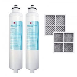 2 x M7251253FR-06 Fridge Filter + 2 x LT 120F Fresh Air Filter set