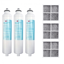 3 x M7251253FR-06 Fridge Filter + 3 x LT 120F Fresh Air Filter set